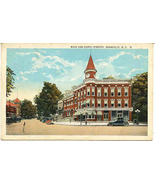 Main and North Streets Granville New York1945 P... - $5.00