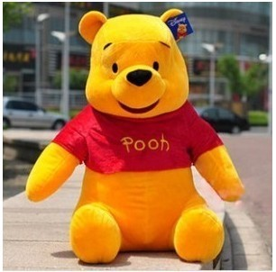 100 CM whinny the pooh bear plush toys children&#39;s toys lover birthday gift