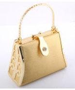 925B-GLD Gold Evening Bag - $20.00