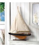 Nautical Tall Boat Statue - $27.00