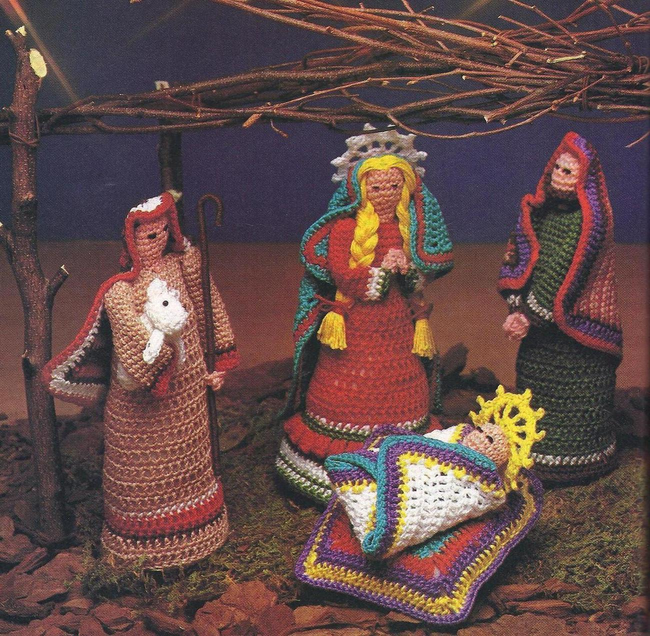 Crochet Patterns Nativity Scene : Nativity Crochet Pattern Patterns Gallery