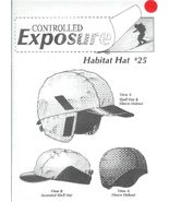 Controlled Exposure Habitat Shell Hat Pattern n... - $6.93