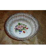 Porcelain Handmade lace weave basket  - $48.60
