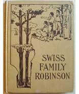 SWISS FAMILY ROBINSON early 1900's HC McLoughli... - $11.99