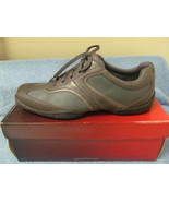 (NEW) ROCKPORT MENS SHOES, 11 M, GRAY - $22.00