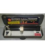 Vintage Gilbert Astronomical Telescope 80 Power... - $60.00