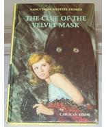 Nancy Drew #30 The Clue of the Velvet Mask Vint... - $4.99