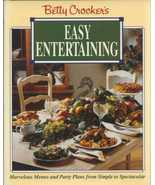 Betty Croker's Easy Entertaining Cookbook, Menu... - $11.89