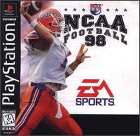 Playstation 1-NCAA FootBall 98-(PS1 game disc w/cse&manual)