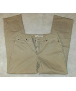 faded glory stretch boot cut tan jeans 10 - $5.00