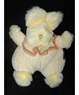 Belgie Bear Bunny Rabbit Yellow Plush Stuffed A... - $22.88