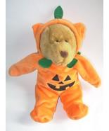 G.A.C. Jack O Lantern Bear Pumpkin Halloween Co... - $17.25
