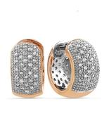 ParisJewelry.com 14K Solid Pink Gold 1 Carat ge... - $649.00
