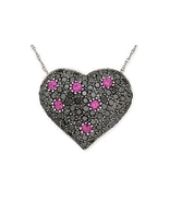 ParisJewelry.com 1 1/5 Carat Black Diamond Pink... - $689.00