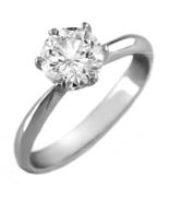ParisJewelry.com 14K Solid White Gold 0.75 Cara... - $699.00