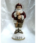 Christmas Reproductions Santa Claus Figurine Ornament 1920 - $18.99