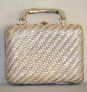 60s Lesco Lona Vintage Italian Box Handbag