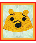 Disney Winnie the Pooh Crochet Hat (Any size fr... - $25.00