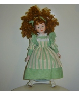 Heritage Mint Porcelain Doll 1989 with Stand & ... - $25.00