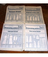 Lot 73 1970s Sewing Patterns Dresses Blouses Sk... - $9.99