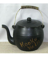 Vintage McCoy Black Teapot Kookie Kettle Cookie... - $16.99