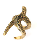LUCKY BRAND Gold Tone Starfish Ring