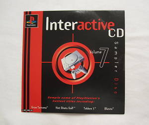 Playstation 1-Interactive CD-Volume 7(PS1 Demo Games disc)RA