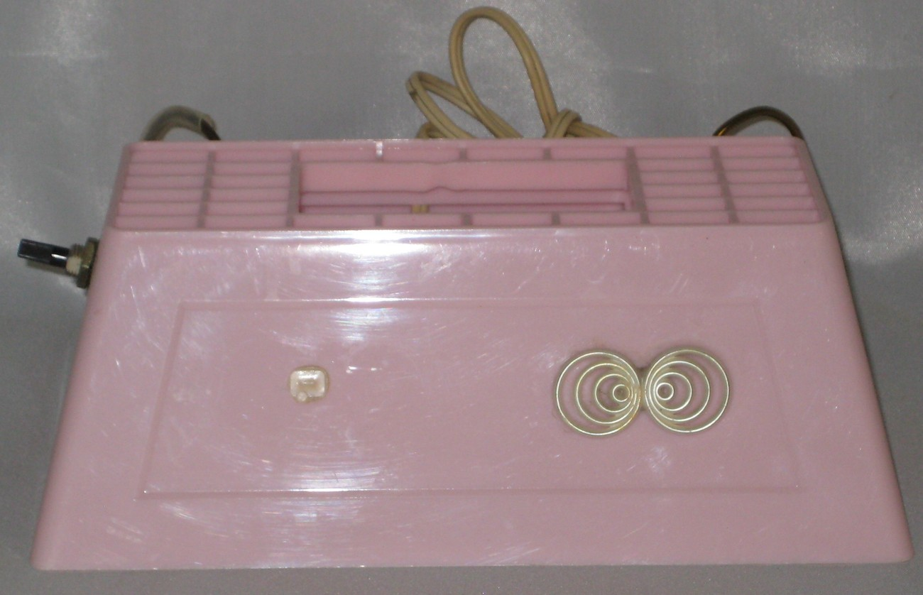 vintage pink headboard reading light 1970s. Black Bedroom Furniture Sets. Home Design Ideas