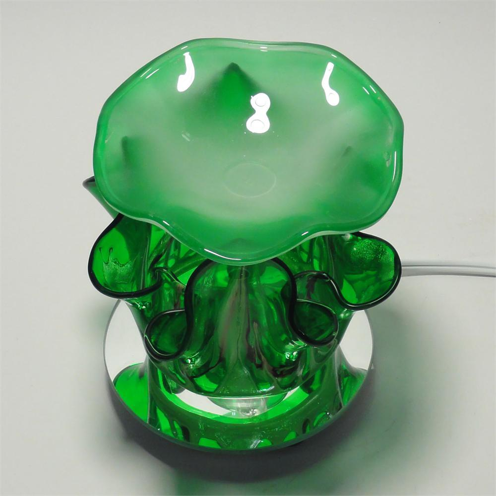 Image 3 of Green Electric Glass Oil Warmer