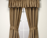Buy Window Treatments - Croscill TANNER  Drapes & Tailored Valance  NEW