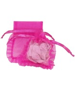 10 Organza Jewelry Pouches Gift Bags 3 X 4 Hot ... - $7.99