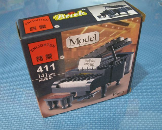 Enlighten 411 Piano Model Building Block Music
