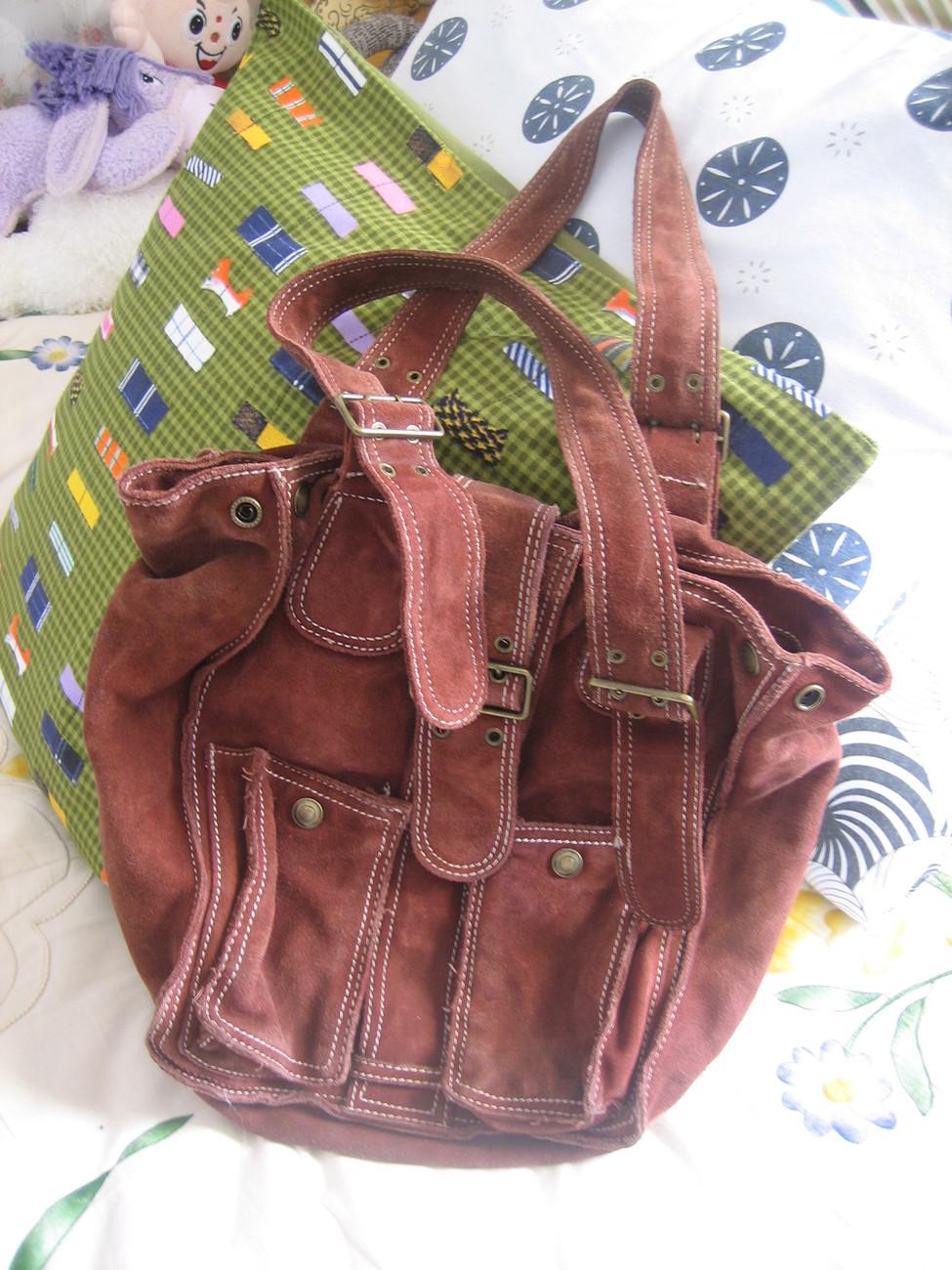 Cynthia Rowley Suede Handbag - Handbags & Bags