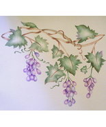 GORGEOUS GRAPEVINE BORDER STENCIL REG $34.99