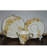 Vintage Royal Stafford Trio - Cup, Saucer, Dess... - $15.00