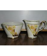 Vintage Royal Stafford Bone China Creamer & Sug... - $15.00