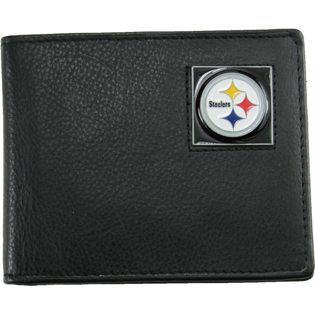 Licensed Pittsburgh Steelers Bi-Fold Wallet