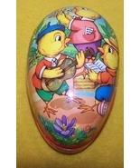 Vintage Paper Mache Easter Egg Gift Box GDR Ger... - $20.00