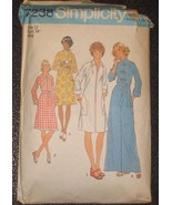 Simplicity 7238 sewing pattern Misses Robes siz... - $3.75