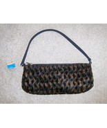 Lancome Faux Fur Purse Handbag - $10.00