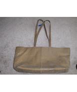 Frenchy Of California Shiny Tan Purse Handbag - $14.97