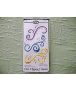 Sizzix Sizzlits Decorative Swirls Set Set 3 die  - $14.99