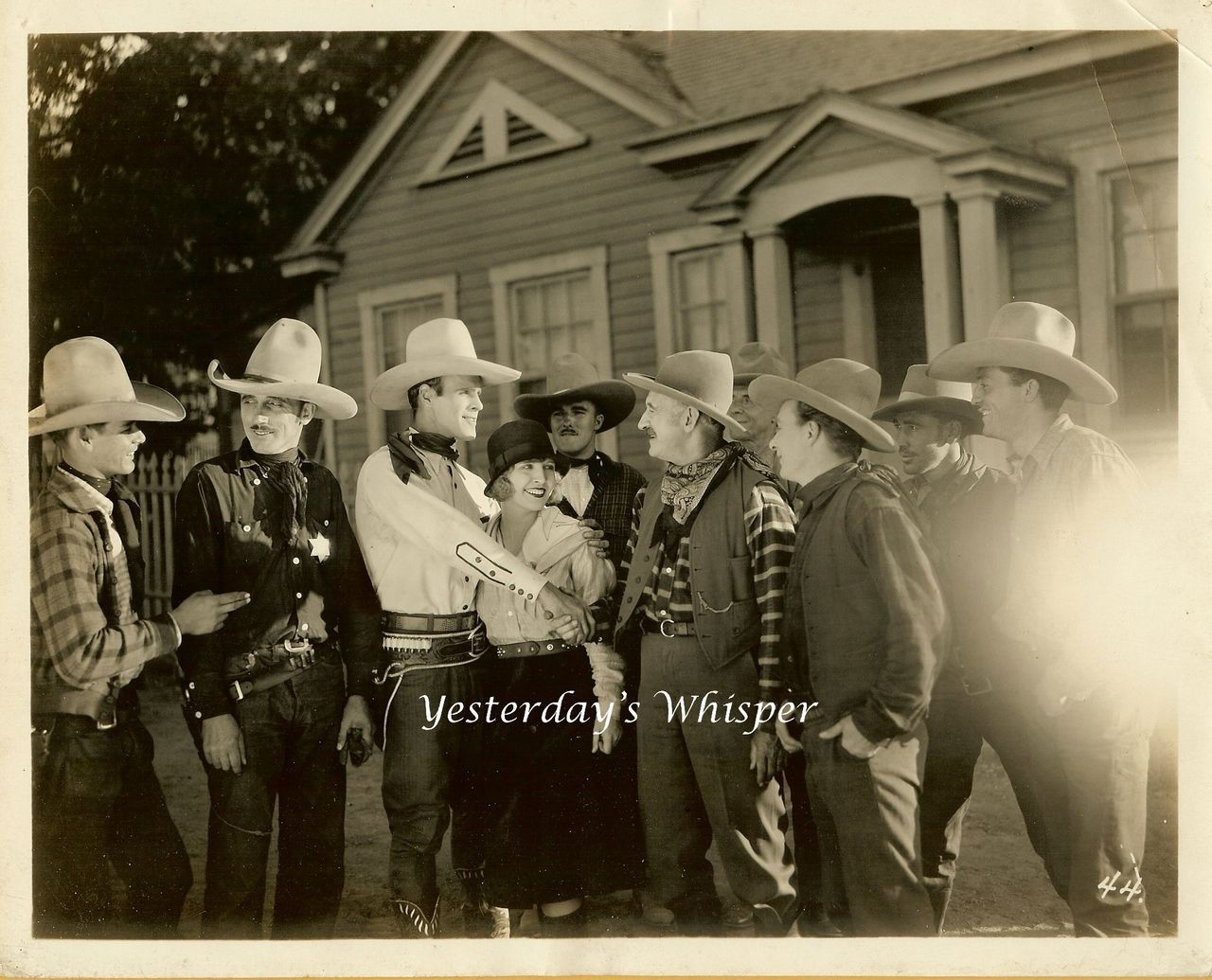 1927 Kermit MAYNARD Ruby BLAINE Wild Born Movie Photo M571