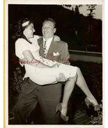 Mike MAZURKI Jeannette BRIGGS ORG Candid  PHOTO... - $14.99
