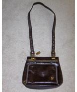 Lina Sling Purse Chocolate Brown Handbag - $14.00