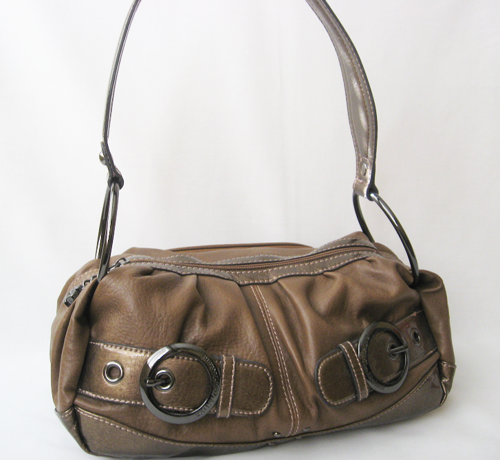 Designer Handbag Purse Shoulder Bag KATHY VAN ZEELAND Brown