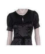 Rockabilly, Pinup, EMO black dress -small