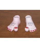 Salt And Pepper Shaker Feet - $10.00