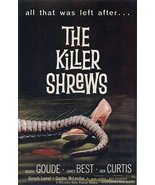 The Killer Shrews 1959 DVD Great Quality - $8.00