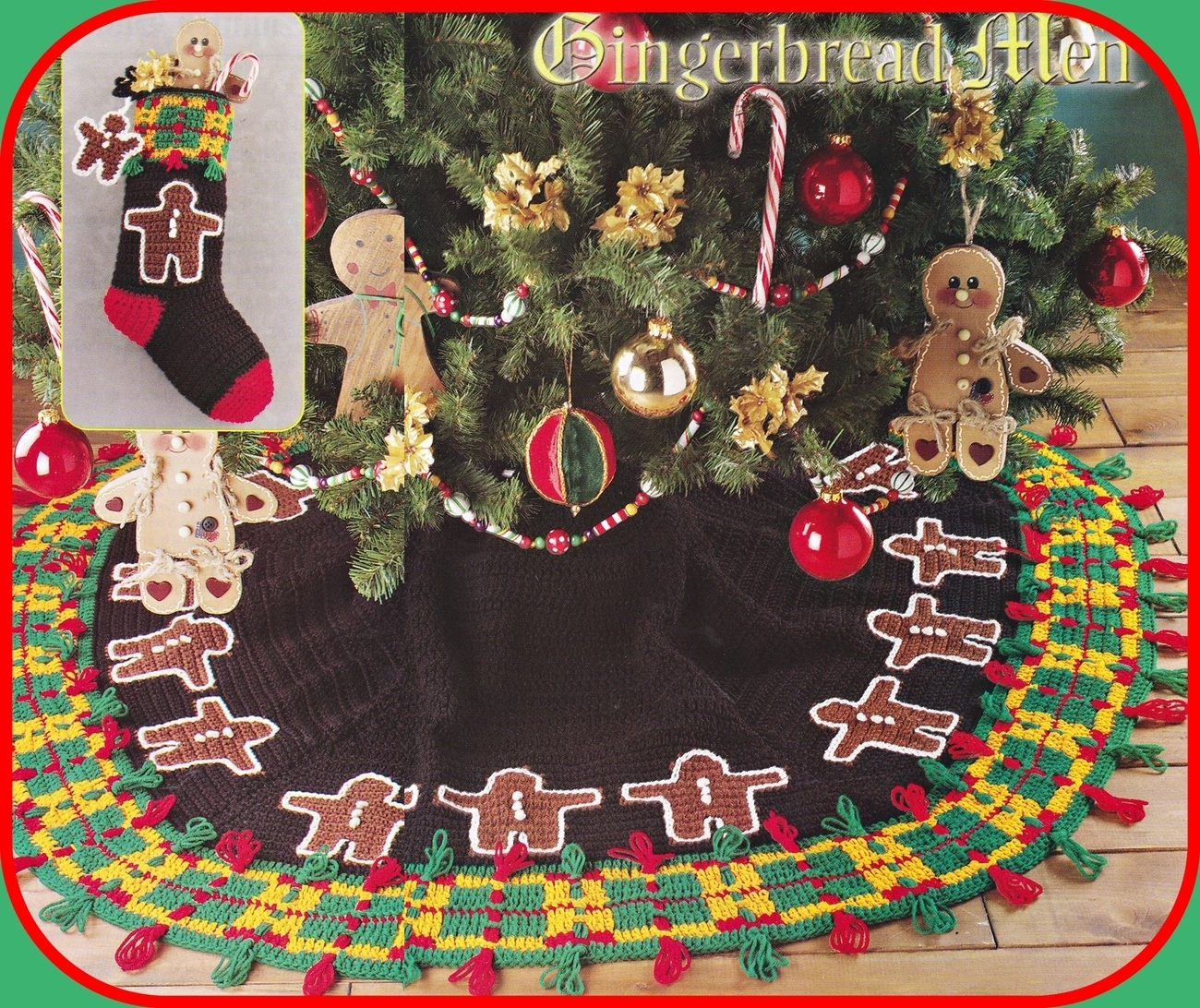 Elegant Christmas Tree Skirt - CrochetKim.com